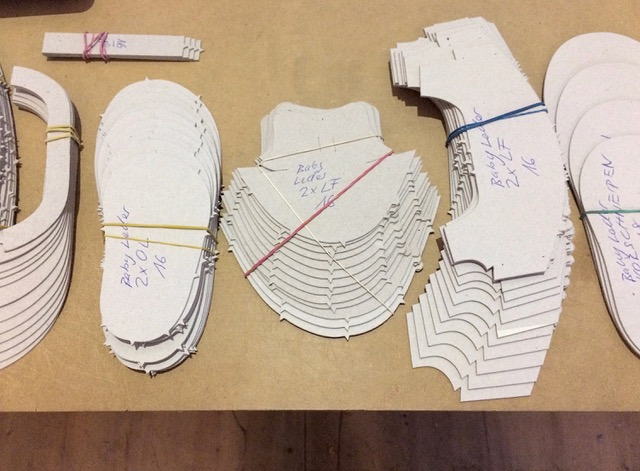 Übersicht Lederausschnitte für Babyschuhe