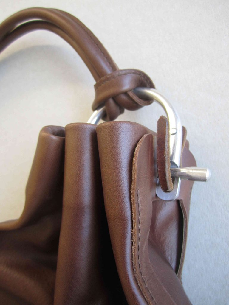 Detail Ledertasche