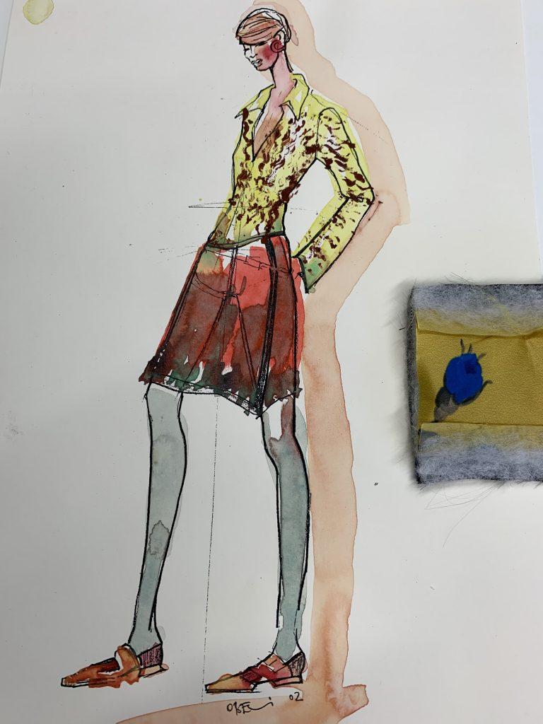 Modezeichnung 1