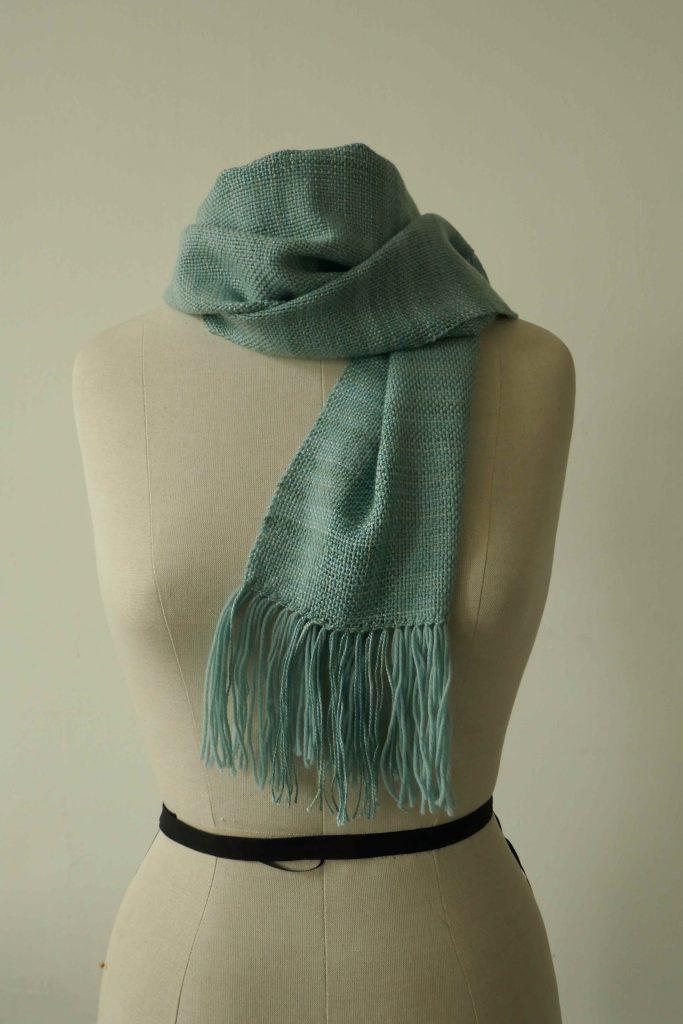 Schal gewebt