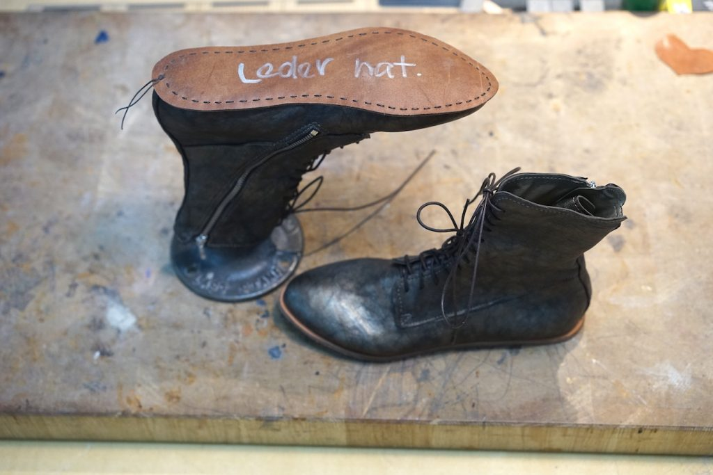 Schuhe selber machen