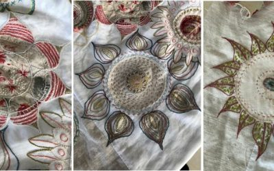 """Eco Printing – Natural Dyes"": Inspiration für eine Stickerin"
