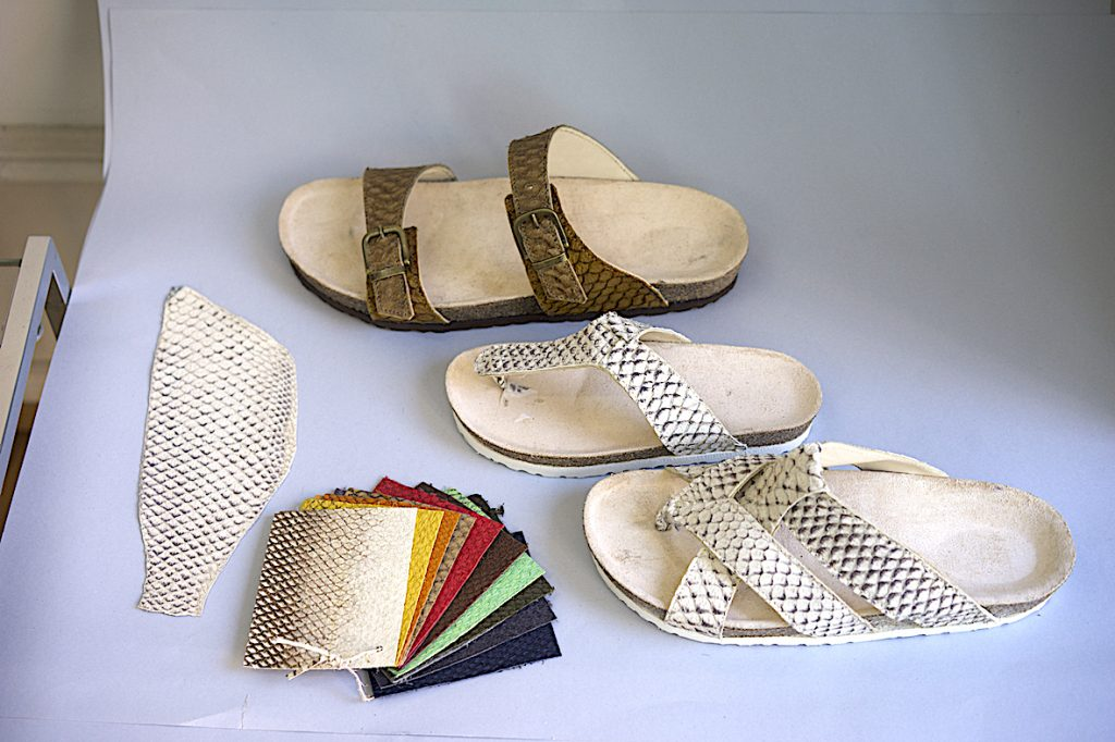 Sandalen mit Korkfussbett