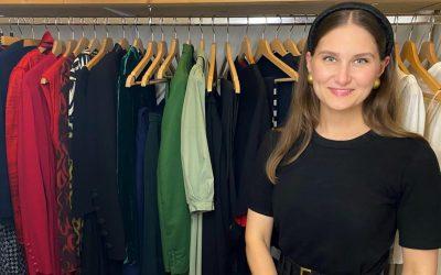 EinBlick in den Kleiderschrank von Ksenia