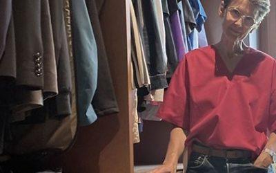 EinBlick in den Kleiderschrank von Anita